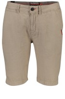 Superdry Short Beige Effen Slanke fit