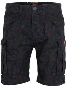 Superdry Short Donkerblauw Print Slim fit
