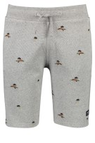 Superdry Short Grijs Print Slanke fit