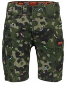 Superdry Short Groen Print Slanke fit