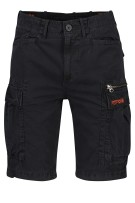 Superdry shorts cargo Zwart Slim fit