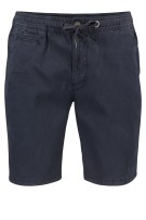Superdry shorts Donkerblauw Effen Slim fit