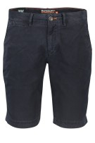 Superdry shorts donkerblauw slim fit