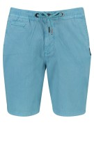 Superdry shorts Lichtblauw aqua Slim fit