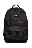 Superdry Surplus Goods Montana rugzak black camo