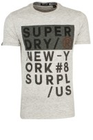 Superdry Surplus Goods T-shirt lichtgrijs