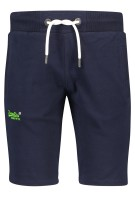 Superdry sweatpants kort Donkerblauw Slim fit