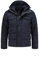 Superdry Tech Tweed Jack navy