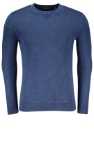 Superdry Trui Blauw Effen Slim fit