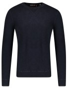 Superdry trui donkerblauw ronde hals