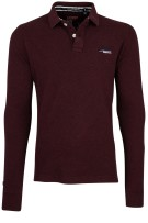 Superdry Trui Rood Bordeaux Effen Slim fit