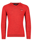 Superdry Trui Rood Gemêleerd Slim fit