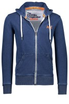 Superdry Vest Blauw Effen Slim fit