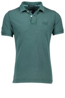 Superdry Vintage Destroyed polo groen