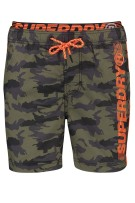 Superdry zwemshort legerprint