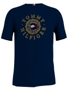 T-shirt Hilfiger Big & Tall navy print