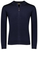 Thomas Maine Vest Donkerblauw Effen Normale fit