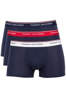 Tommy Hilfiger 3-pack boxershorts donkerblauw