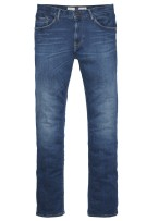 Tommy Hilfiger 5-Pocket Broek Blauw Effen Slim fit Bleecker