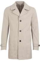 Tommy Hilfiger Canvas Mac regenjas beige