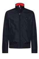 Tommy Hilfiger Jas Donkerblauw Effen Normale fit