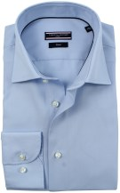 Tommy Hilfiger overhemd light blue mouwlengte 7