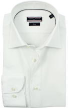Tommy Hilfiger overhemd wit mouwlengte 7 Oxford kwaliteit