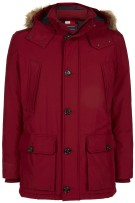 Tommy Hilfiger parka Big & Tall  rood