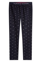Tommy Hilfiger Pyjamabroek Donkerblauw Print Normale fit