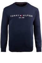 Tommy Hilfiger trui Big & Tall navy logo