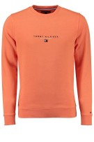 Tommy Hilfiger trui oranje Big & Tall
