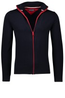 Tommy Hilfiger Vest Donkerblauw Effen Normale fit