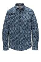 Vanguard Overhemd Donkerblauw Print Normale fit