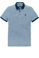 Vanguard Polo Shirt Blauw Effen Normale fit