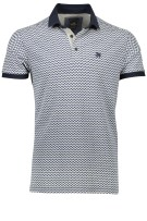 Vanguard Polo Shirt Blauw Print Normale fit