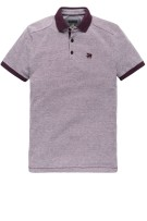 Vanguard Polo Shirt Bordeaux Effen Normale fit