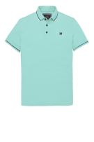 Vanguard Polo Shirt Groen Effen Normale fit