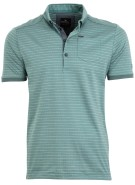 Vanguard Polo Shirt Groen Print Normale fit