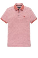 Vanguard Polo Shirt Rood Print Normale fit