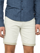 Vanguard short ecru denim VSH182515-Blue Fog Beige