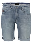 Vanguard shorts denim verwassen Blauw Slim fit