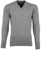 William Lockie pullover grijs  kasjmier