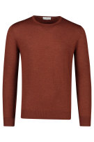 Wollen pullover Thoms Maine brique