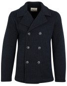Wool & Co jas donkerblauw