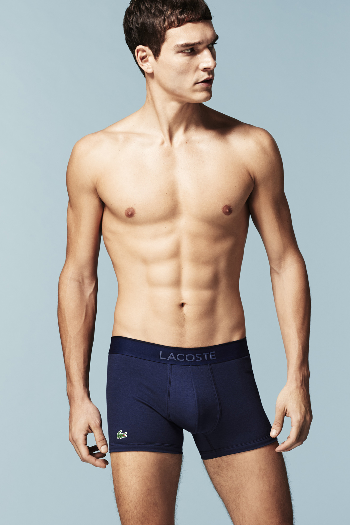 fd262f4d50 Lacoste boxer donkerblauw micro piqué