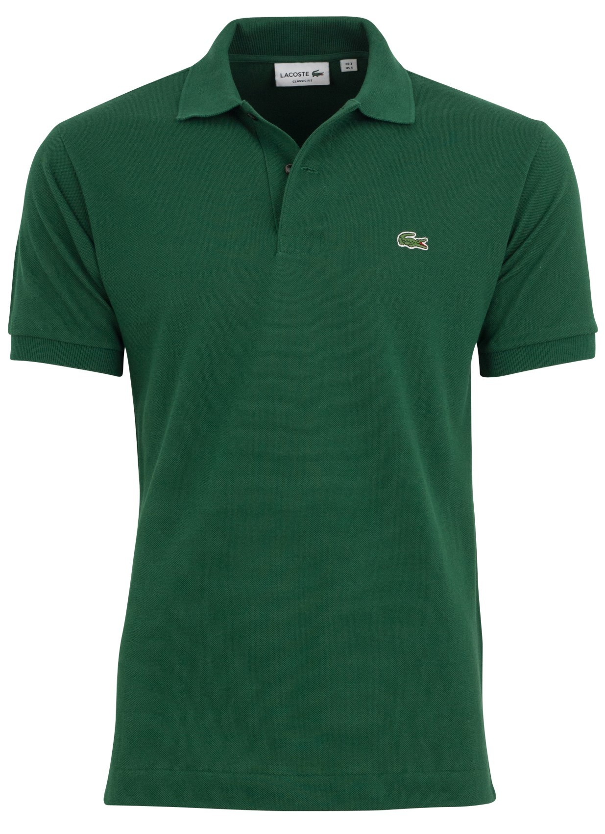 Lacoste polo classic fit donkergroen polo heren lacoste - Lacoste poloshirt weiay ...