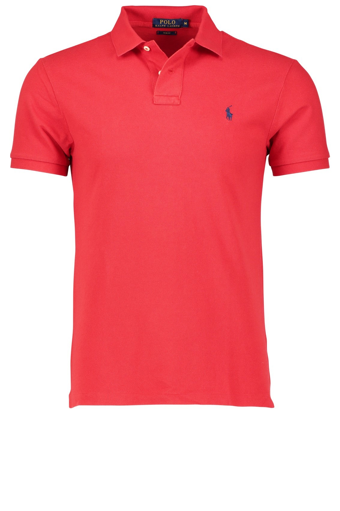 polo ralph lauren poloshirt rood slim fit. Black Bedroom Furniture Sets. Home Design Ideas